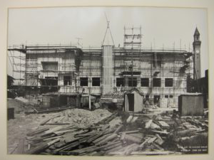 The Barber Institute of Fine Arts under construction. c.1937, photograph