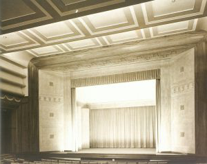 The Concert Hall, Barber Institute of Fine Arts, c.1939, photograph