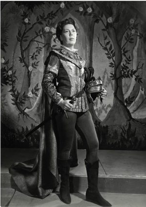 Janet Baker in TH.e Barber Opera, photograph